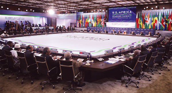 The U.S.- Africa Leaders Summit — in China's footsteps?
